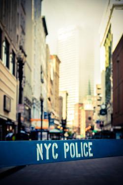 Retro Nyc Crime Scene by Mr Doomits