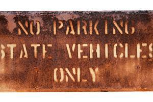 School Parking Sign by Mr Doomits