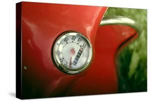 Vintage Red Moped Odometer Detail by Mr Doomits