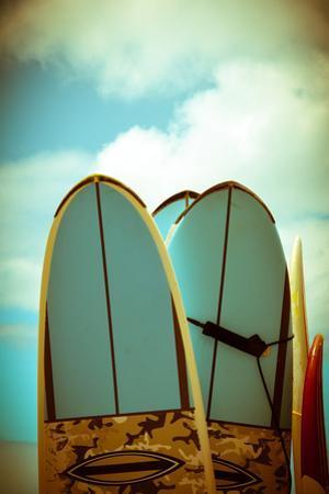 Vintage Surf Boards by Mr Doomits