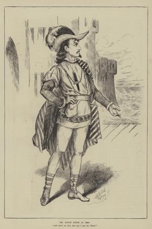 Mr Edwin Booth as Iago