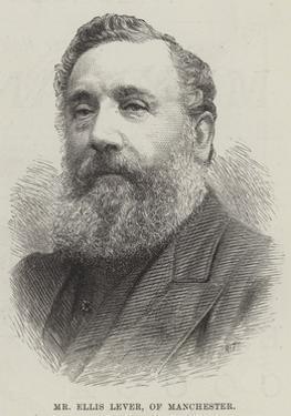Mr Ellis Lever, of Manchester