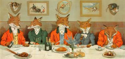 Mr. Fox's Hunt Breakfast by H Neilson