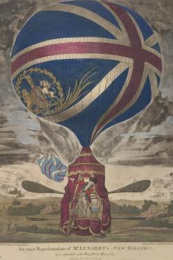 Mr. Lunardi's New Balloon