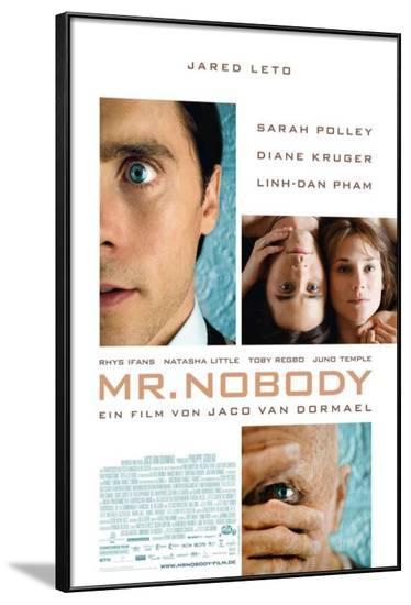 Mr. Nobody - German Style--Framed Poster