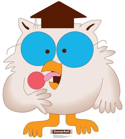 Mr. Owl - Tootsie Roll Lifesize Standup