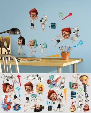 Mr. Peabody & Sherman Peel and Stick Wall Decals