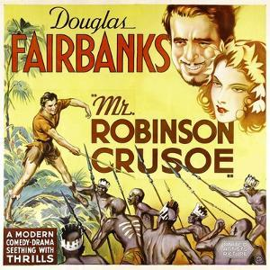 MR. ROBINSON CRUSOE, top right: Douglas Fairbanks, 1932.