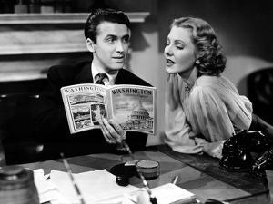 Mr. Smith Goes To Washington, James Stewart, Jean Arthur, 1939