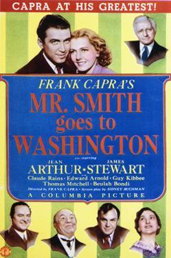 Mr. Smith Goes to Washington - Movie Poster Reproduction