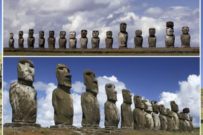 Moai of Easter Island - South Pacific by mrallen