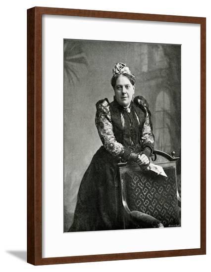 Mrs Alexander Photo--Framed Giclee Print