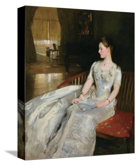 Mrs. Cecil Wade, 1886-John Singer Sargent-Stretched Canvas Print
