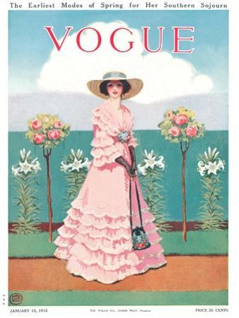 Vogue Cover - January 1912