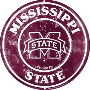 MS State Retro circle