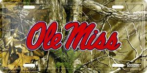 MS Univ Ole Miss Realtree camo