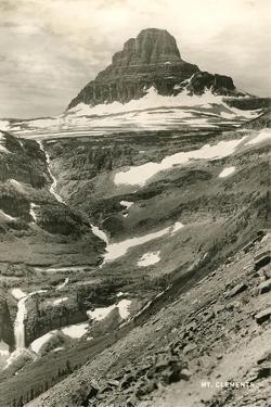 Mt. Clements, Glaciers