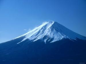 Mt. Fuji Viewed from Mitsutohge, Yamanashi, Japan