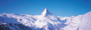 Mt Matterhorn Valais Sunnegga Switzerland