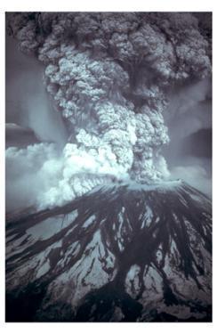 Mt St Helens Eruption