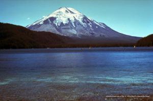 Mt St Helens Pre-Eruption