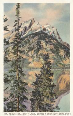 Mt. Teewinot, Grand Teton National Park, Wyoming