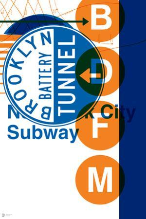 MTA Blue + Orange Collage