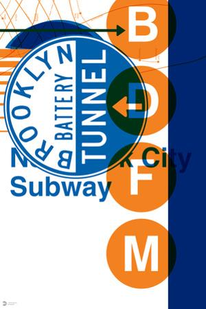 MTA Blue + Orange Collage