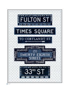MTA Mosaics Blue