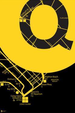 MTA Yellow Abstract