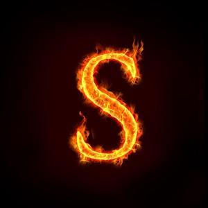 Fire Alphabets, S by mtkang
