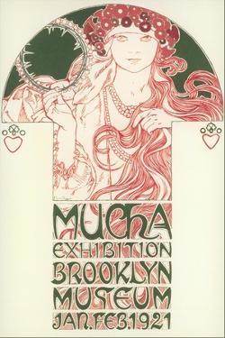 Mucha Exhibition Poster
