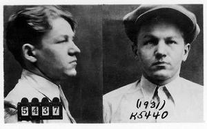Mug Shots of Baby Face Nelson in the 1930s