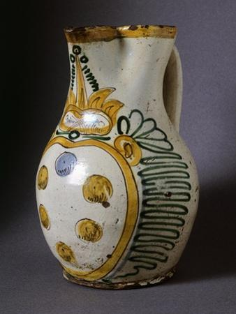 Mug with Handles Bearing Medici Coat of Arms