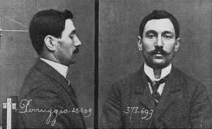 Mugshots of Vincenzo Perugia, Who Stole the Mona Lisa on August 21, 1911