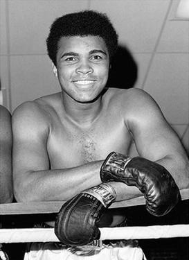 Muhammad Ali- Big Friendly Smile