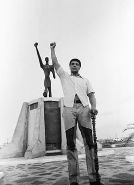 Muhammad Ali- Black Power Salute