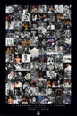 Muhammad Ali- Commemorative Montage