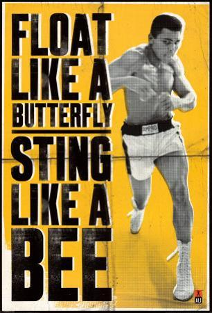 Muhammad Ali - Float like a Butterfly