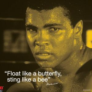 Muhammad Ali: Float Like a Butterfly