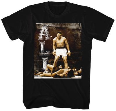 Muhammad Ali- Knockdown In The Ring