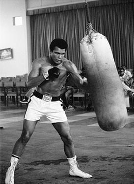 Muhammad Ali- Punching Bag Workout