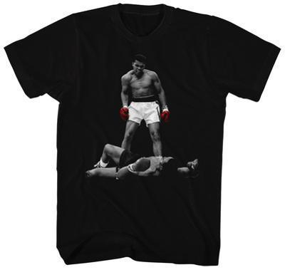 Muhammad Ali- Red Gloved Knockdown