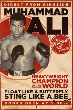 muhammad ali vintage - Muhammad Ali Framed Pictures