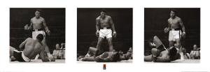 Muhammad Ali vs. Sonny Liston Triptych