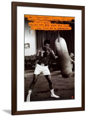 Muhammad Ali--Framed Poster