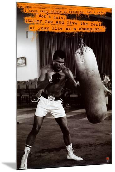 Muhammad Ali--Mounted Print