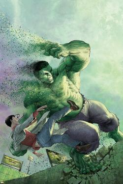 Indestructible Hulk #14 Cover Featuring Hulk, Bruce Banner by Mukesh Singh