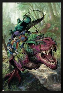 Indestructible Hulk #20 Cover Featuring Hulk, Two-Gun Kid, Kid Colt, Rawhide Kid by Mukesh Singh