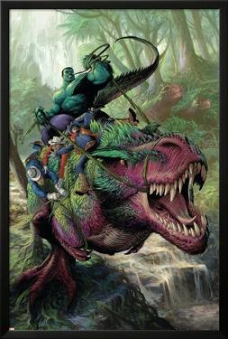 Indestructible Hulk #20 Cover: Hulk, Two-Gun Kid, Kid Colt, Rawhide Kid by Mukesh Singh